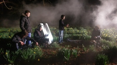 Paul Hartmann - At night in the daffodils